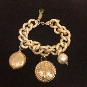 Dior authentic vintage button bracelet
